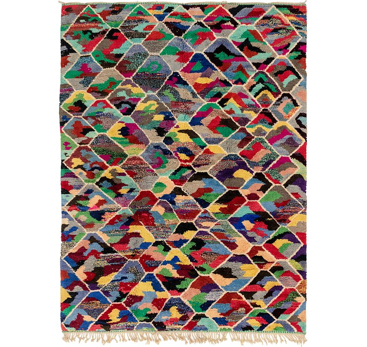 HandKnotted 8' 6 x 11' 7 Moroccan Rug