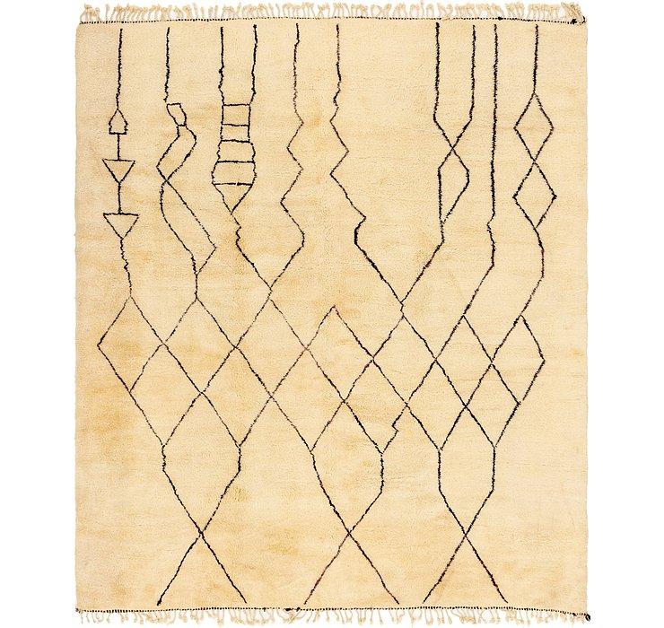 335cm x 395cm Moroccan Rug