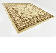 Link to Unique Loom 10' x 10' Classic Agra Square Rug