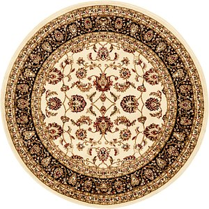 Unique Loom 5' 3 x 5' 3 Kashan Design Rug