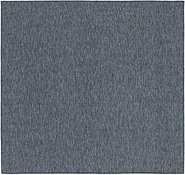 Link to 8' 5 x 9' Outdoor Solid Square Rug