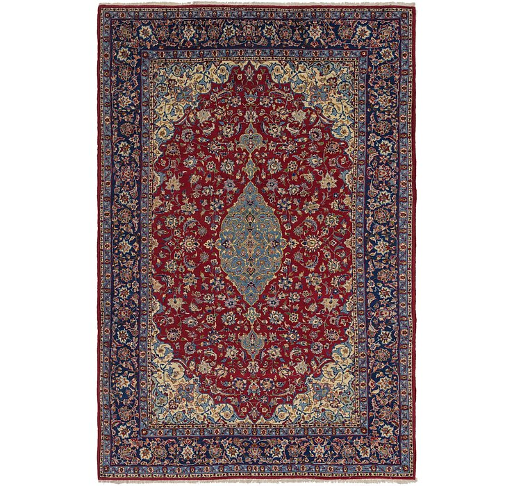 HandKnotted 9' 8 x 14' 8 Isfahan Persian Rug