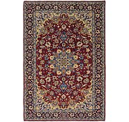 Link to 8' 4 x 12' Isfahan Persian Rug