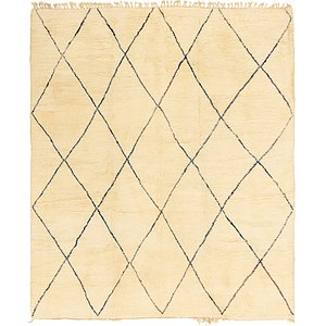 10' 10 x 13' 5 Moroccan Rug