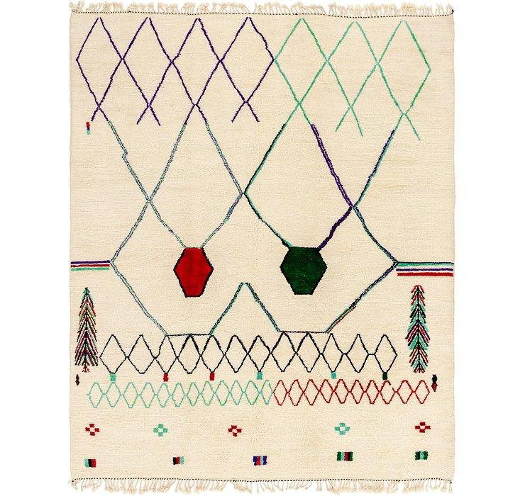 10' x 13' 5 Moroccan Rug