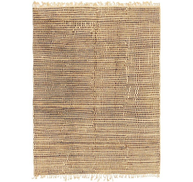 HandKnotted 10' x 13' 6 Moroccan Rug