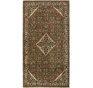 Link to 163cm x 305cm Hossainabad Persian Runner Rug