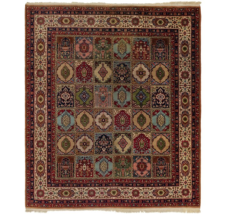 8' 10 x 10' 4 Sarough Rug