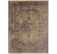 Link to 8' 6 x 11' 8 Tabriz Oriental Rug