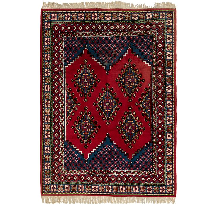 HandKnotted 8' 7 x 12' 2 Moroccan Rug