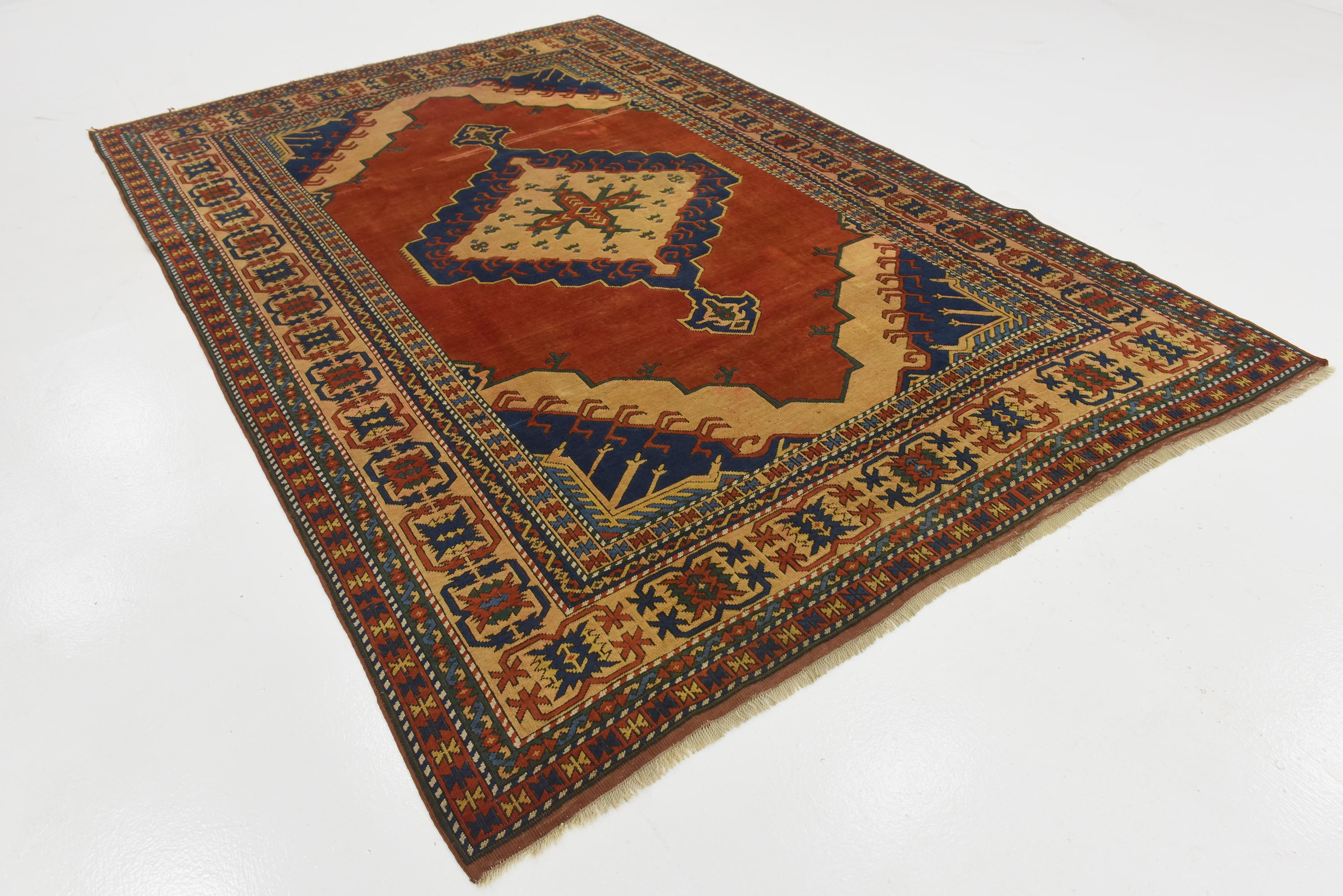 Red 7' x 10' 8 Kars Rug | HandKnotted com