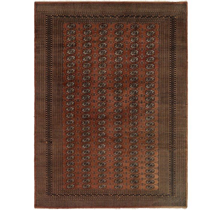7' 4 x 9' 9 Bokhara Oriental Rug