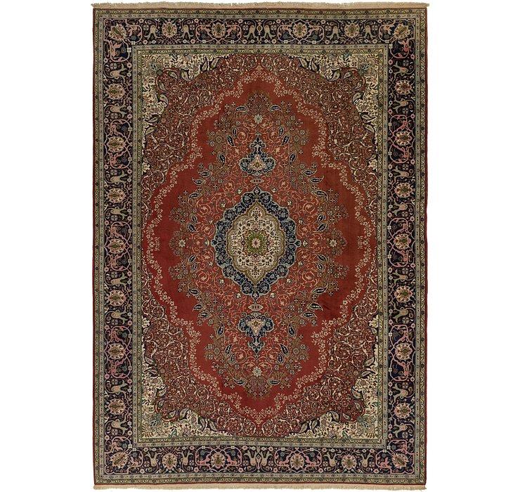 9' 3 x 13' Tabriz Persian Rug
