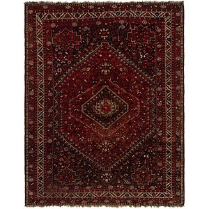 8' 3 x 10' 7 Ghashghaei Persian Rug