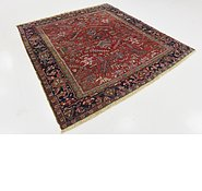 Link to 7' x 7' 7 Heriz Persian Square Rug