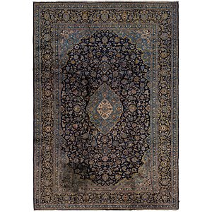 Link to 8' 8 x 12' 8 Kashan Persian Rug page