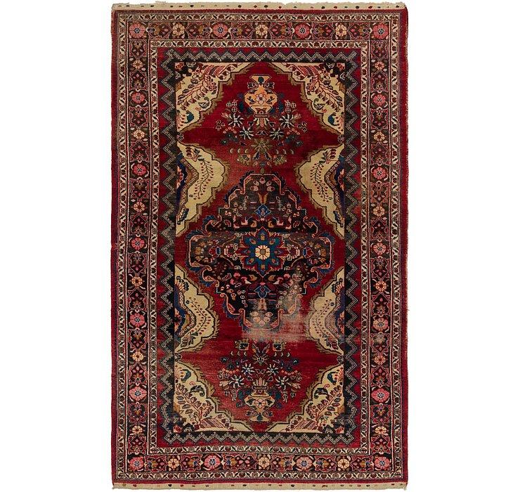 6' 9 x 11' 3 Hamedan Persian Rug