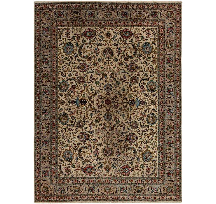 8' 10 x 12' 4 Tabriz Persian Rug