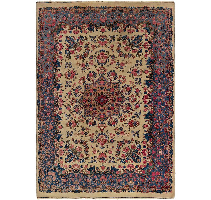 8' 9 x 11' 10 Kerman Persian Rug
