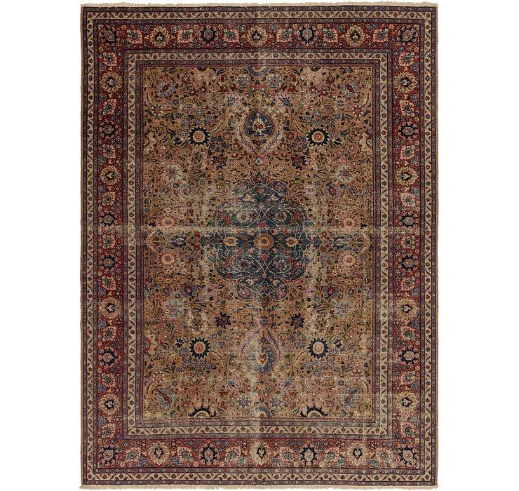 9' 4 x 12' 10 Yazd Persian Rug