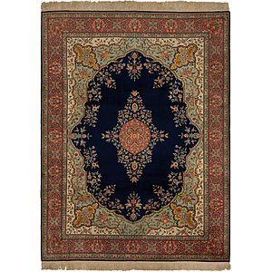 Link to 9' 10 x 13' 8 Tabriz Persian Rug page