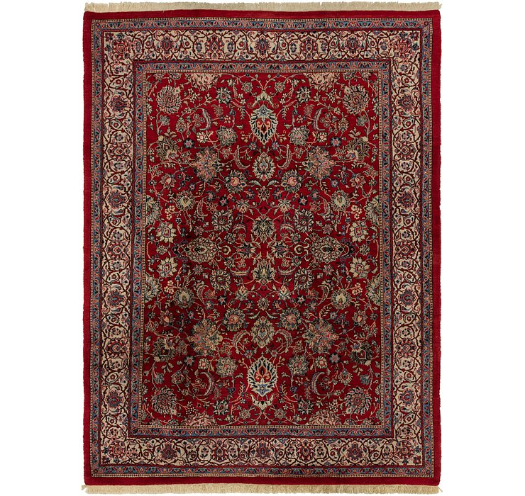 250cm x 343cm Sarough Persian Rug
