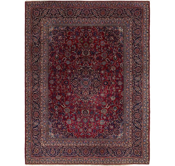 8' 10 x 12' 2 Kashan Persian Rug