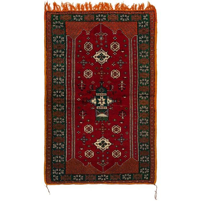4' 8 x 7' 9 Moroccan Rug