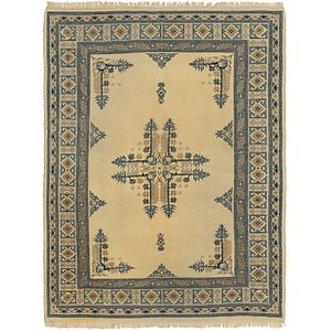 HandKnotted 5' 6 x 7' 5 Romani Rug