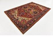 Link to 5' 8 x 8' 2 Heriz Persian Rug
