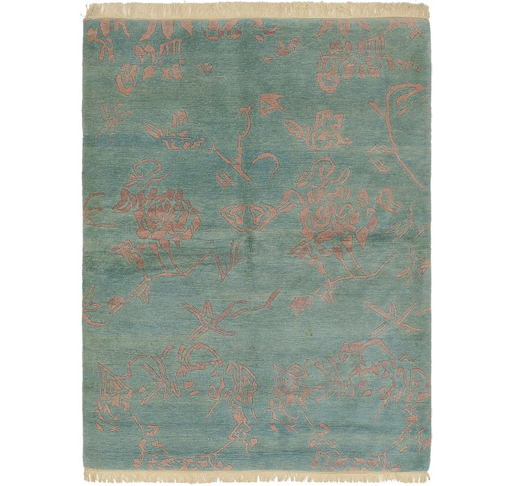 HandKnotted 5' 10 x 7' 10 Nepal Rug