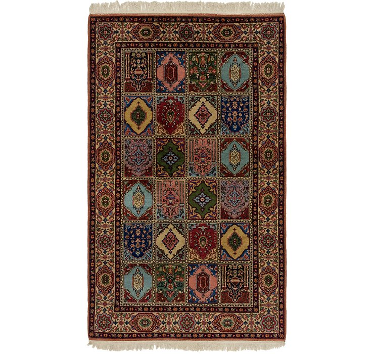 5' x 8' 6 Sarough Rug