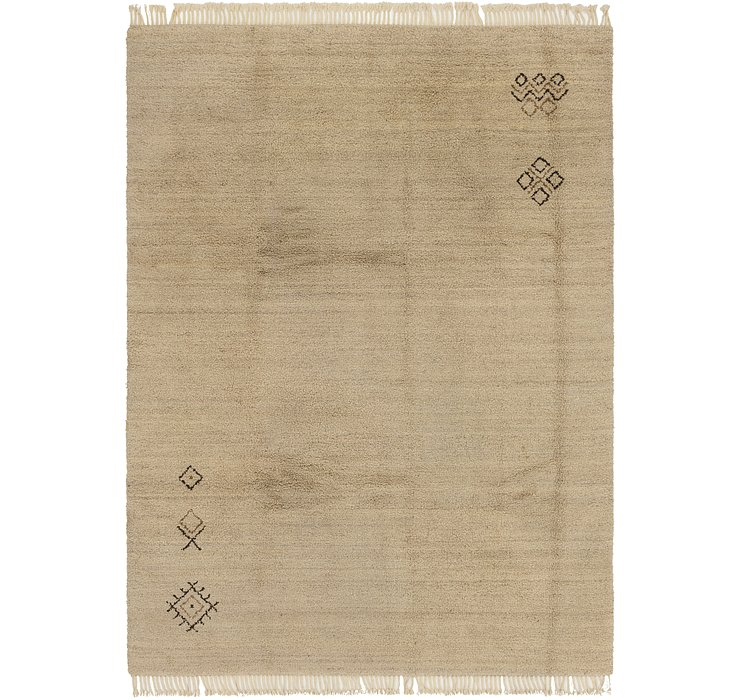 HandKnotted 9' x 12' 5 Moroccan Rug