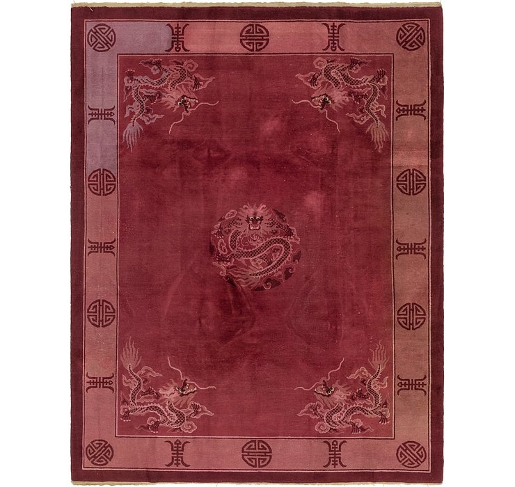 8' 10 x 11' 10 Antique Finish Rug