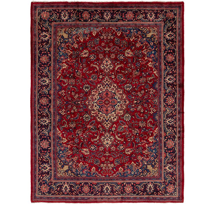 10' 7 x 14' Meshkabad Persian Rug