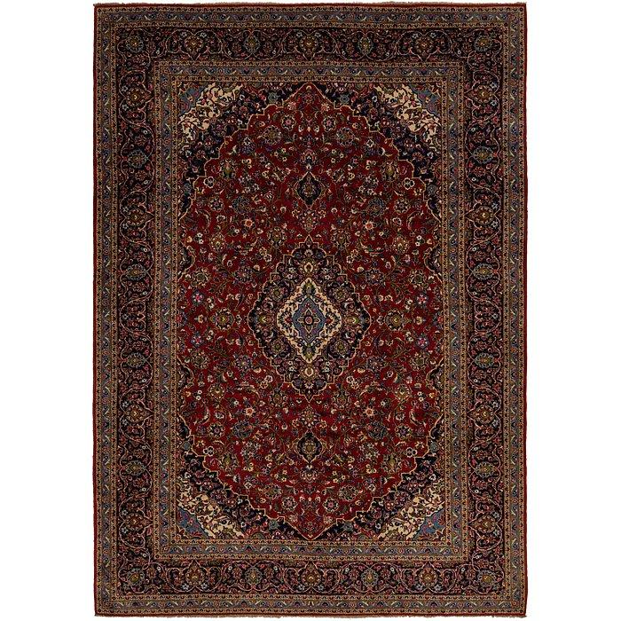 9' 8 x 13' 10 Kashan Persian Rug