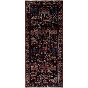 5' x 12' 3 Hamedan Persian Runner ...