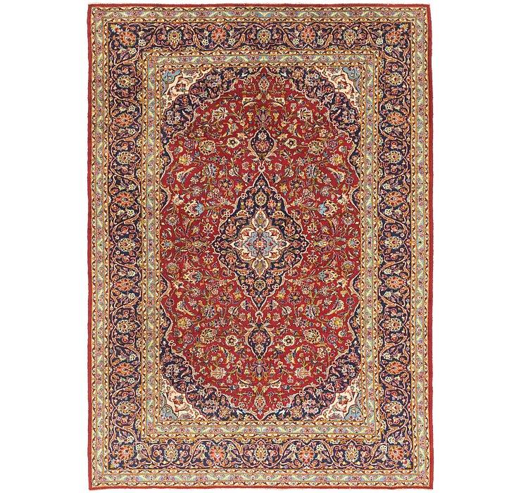 9' 10 x 13' 9 Kashan Persian Rug