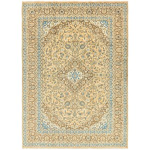 Link to 9' 7 x 13' Mashad Persian Rug page