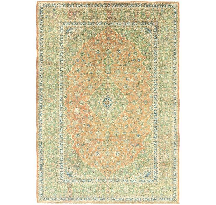 9' 8 x 13' 10 Mashad Persian Rug