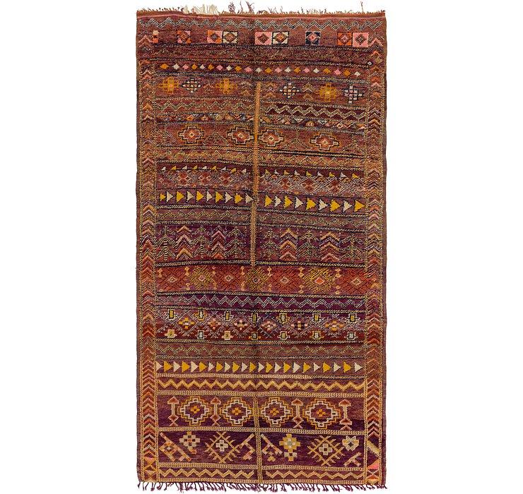 5' 10 x 12' Moroccan Runner Rug