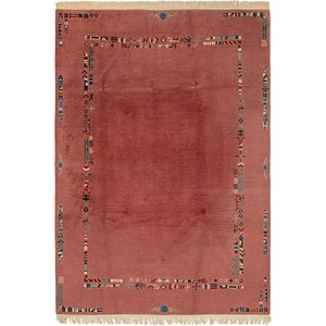 HandKnotted 6' 8 x 9' 9 Nepal Rug