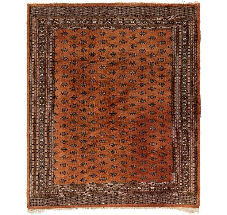 8' 7 x 10' 2 Bokhara Oriental Rug