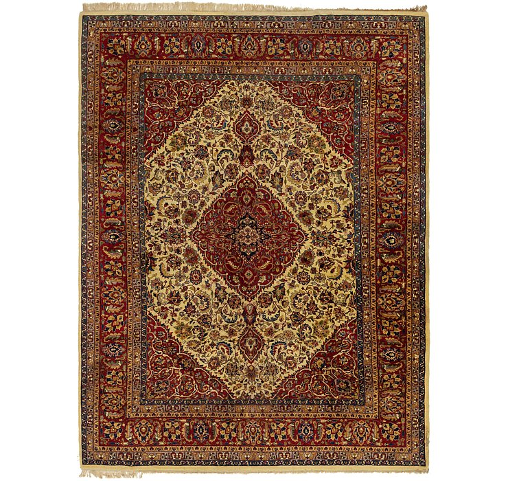 9' 10 x 13' 2 Sarough Rug
