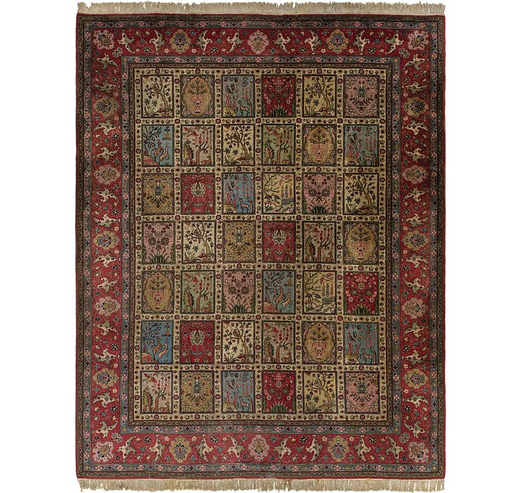 9' 9 x 12' 4 Sarough Rug
