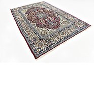 Link to 198cm x 295cm Isfahan Persian Rug