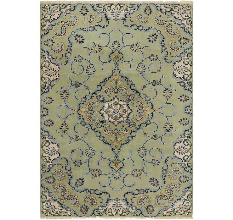 6' 9 x 9' 9 Kashan Persian Rug