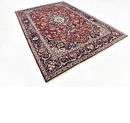 Link to 7' x 9' 10 Mashad Persian Rug