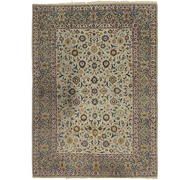 7' 3 x 10' 4 Kashan Persian Rug