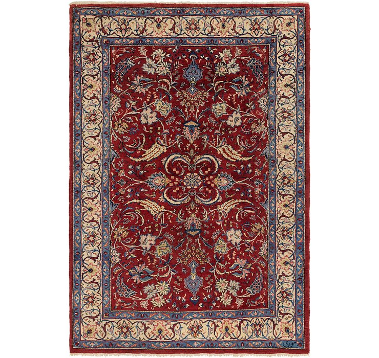 205cm x 312cm Sarough Persian Rug